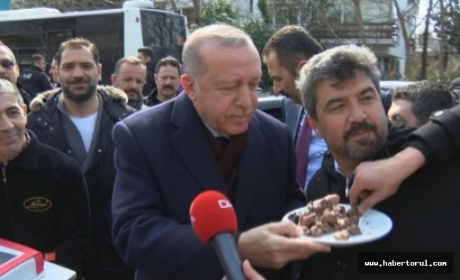 Erdoğan'ın 65. yaşını kutladı