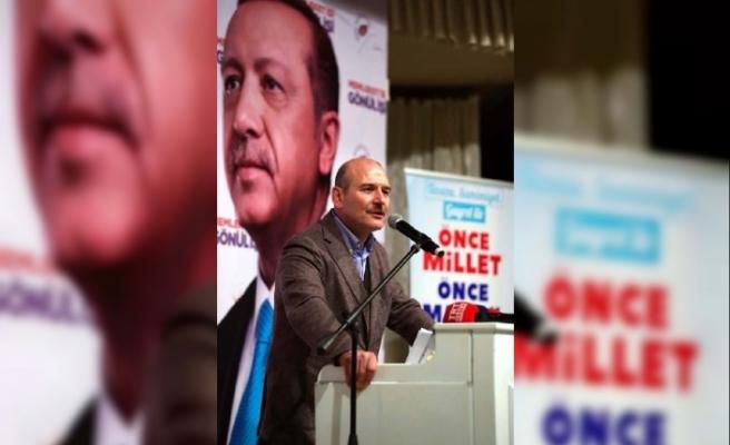 Soylu:Erdoğan'a diş geçiremediler