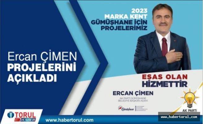 Ercan Çimen Projelerini Açıkladı