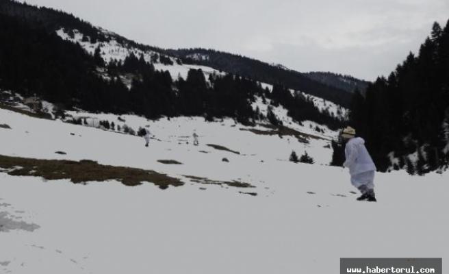 Terör örgütülerine karşi kış operasyonu