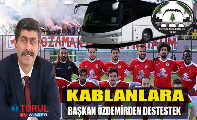 Torul Belediyesi, Kelkit Hürriyet Spor Final Maçına Otobüs