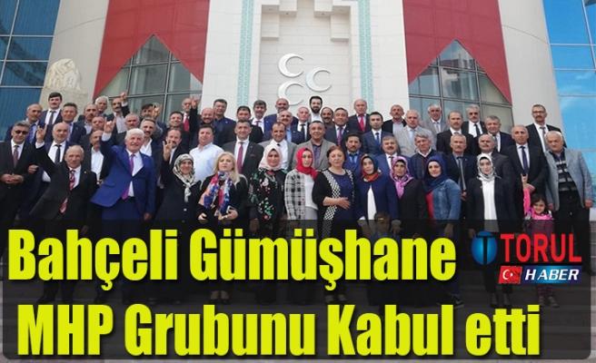 Bahçeli Gümüşhane MHP Grubunu Kabul etti