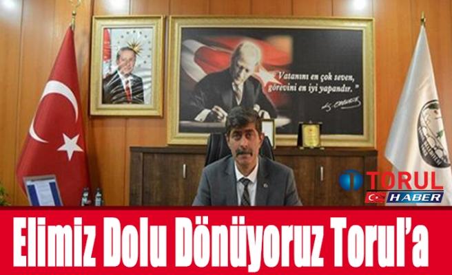 Elimiz Dolu Dönüyoruz Torul'a