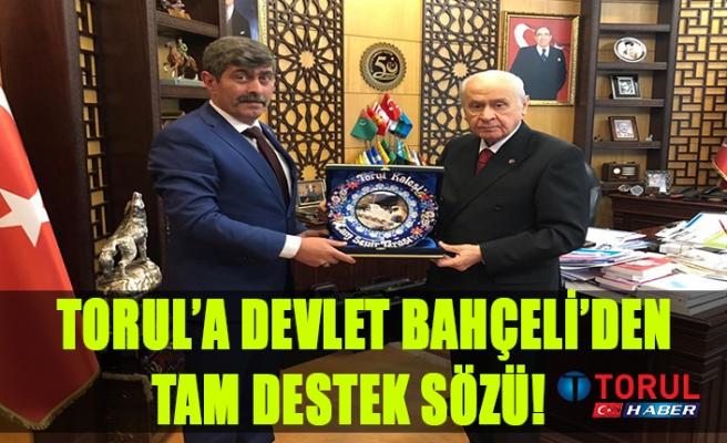 Torul'a Devlet Bahçeli'den Destek Sözü