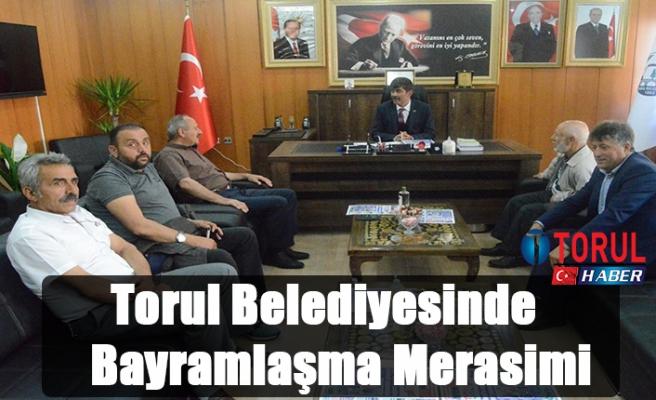 Torul Belediyesinde Bayramlaşma
