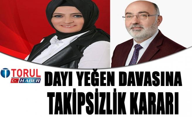 Torul Meslek Yüksekokulu Davasına Takipsizlik