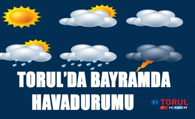 Torul'da Bayram'da Hava Durumu