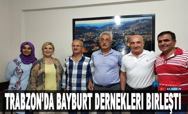 Trabzon'da Bayburt Dernekleri Birleşti