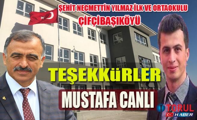 Teşekkürler Mustafa Canlı