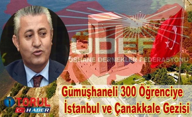 Gümüşhaneli 300 Öğrenciye İstanbul ve Çanakkale Gezisi