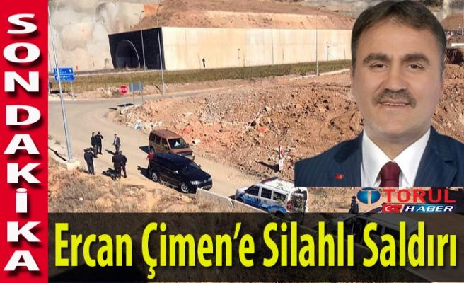Ercan Çimen'e Silahlı Saldırı