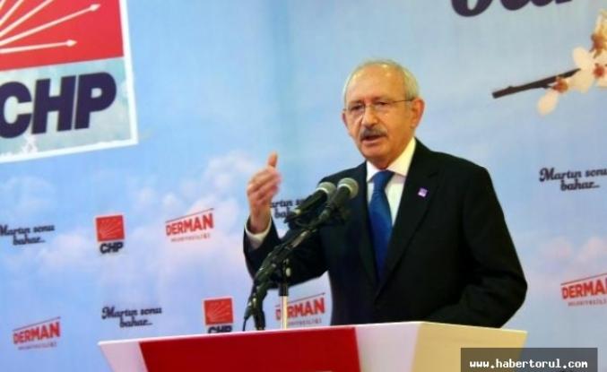 """Kılıçdaroğlu """"Bu iş, bir parti olma olayını çoktan aştı."""
