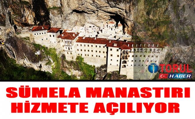 Sümela Manastırı Hizmete Açılıyor