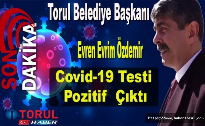 Torul Belediye Başkanı Özdemir'in Covid-19 Testi Pozitif  Çıktı