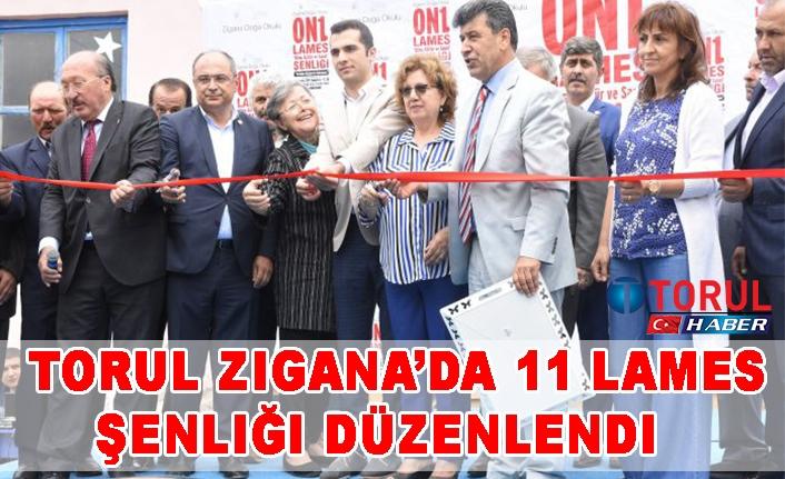Torul Zigana'da 11 Lames Şenliği Düzenlendi